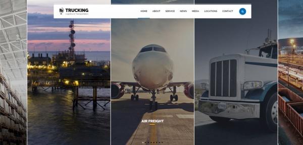trucking-wordpress-responsive-theme-slider1