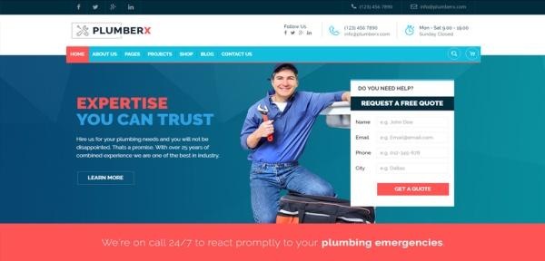 plumberx-w-wordpress-responsive-theme-slider1