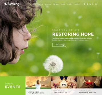 blessing-html5-responsive-theme-desktop-full