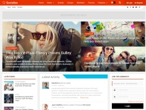 socialize-wordpress-responsive-theme-desktop-full