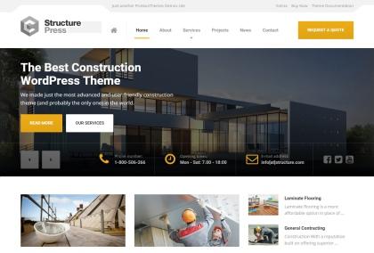 structurepress-html-html5-responsive-theme-desktop-full