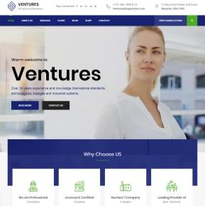 ventures-html5-responsive-theme-desktop-full