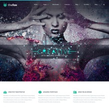 thefox-wordpress-responsive-theme-desktop-full